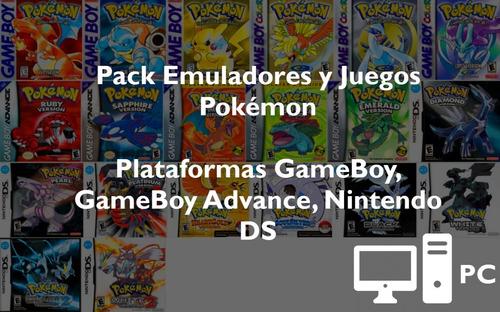 Colección Pokémon Para Pc - Emuladores Y Juegos Gb, Gba, Nds