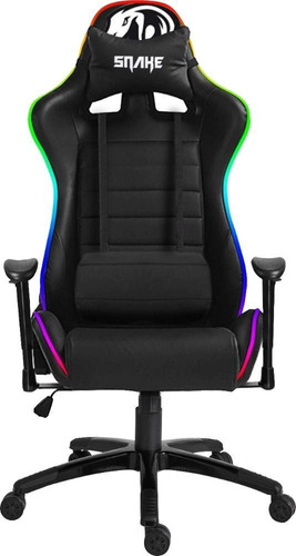 Cadeira Gamer Coral Snake Gaming Rgb Led - 580