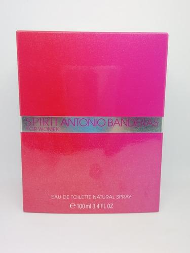Spirit For Woman Antonio Banderas 100 Ml Discontinuado