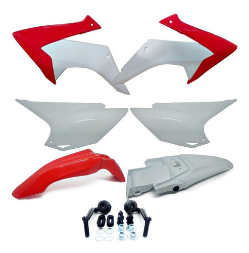 Kit Plástico Roupa Crf 230 2015 Á 2018 2019 Avtec