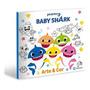 Livro Para Colorir Baby Shark Pinkfong Infantil Grande Novo