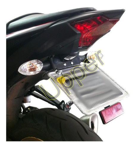 Suporte De Placa Rabeta Eliminador Yamaha Mt03 - Mt 03 - R3