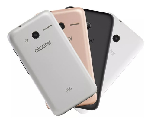 3 Capas Originais Smartphone Alcatel Pixi4 Ot4034 Metallic