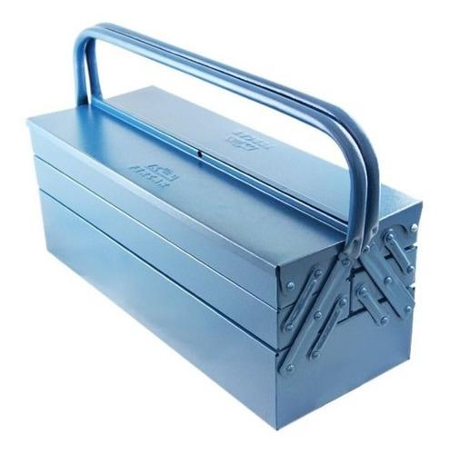 Caixa De Ferramentas Fercar 07 De Metal 20cm X 50cm X 21cm Azul