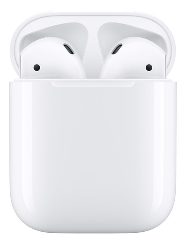 Auriculares Inalámbricos Apple AirPods With Charging Case (2nd Generation) Blanco