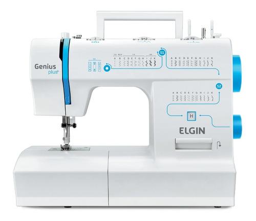 Maquina De Costura Portátil Elgin Genius Plus Jx4035 31 Pont