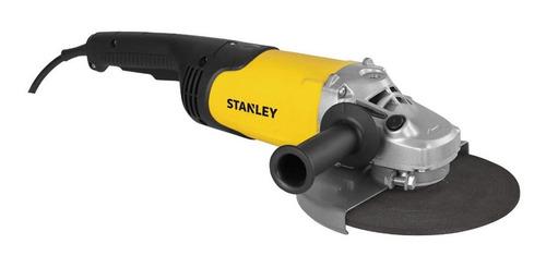 Amoladora Angular Stanley Stgl2223 Amarilla 2200w 220v