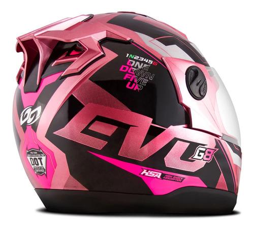Capacete Feminino Pro Tork 2020 Evolution 788 G8 Evo Rosa