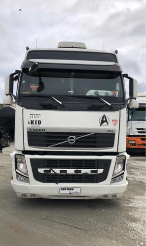 Volvo Fh 460 13/13 Globetrotter 6x2 Branco Gustavo-caminhões