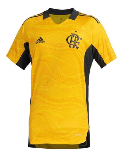 Camisa Flamengo Goleiro 1 Amarela adidas 2021