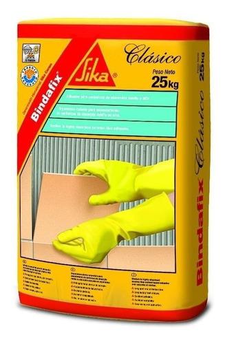 Adhesivo Pegamento Azulejos Ceramica Bindafix Clasico 25 Kg.