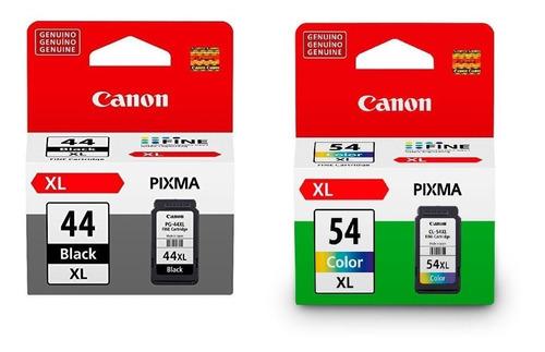 Kit Cartuchos Canon Pg-44xl Y Cl-54xl E401 E461 E481 E471 E3