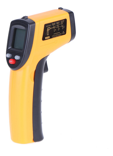 Termómetro Infrarrojo Digital Industrial (-50-380 ° C)