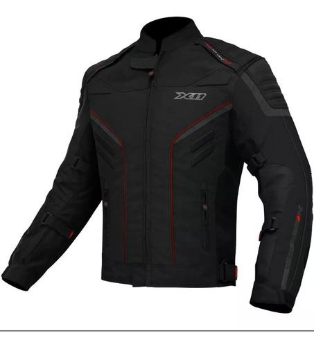 Jaqueta X11 Iron 2 Masculino Motoqueiro Moto Motociclista
