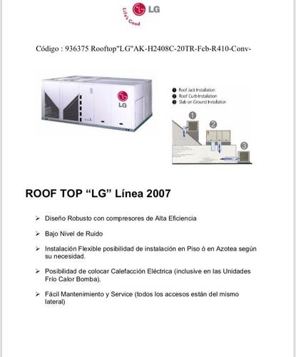 Aire Acondicionado LG Rooftop