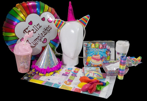 Kit Cumpleaños Unicornio
