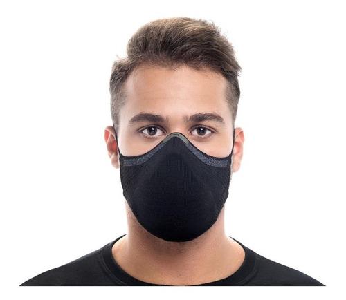 Máscara Knit Max95 Antiviral + 15 Filtros E Clipe Nasal