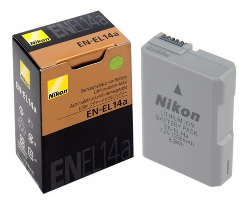 Bateria Para Camara Nikon En El-1 - Unidad a $71900