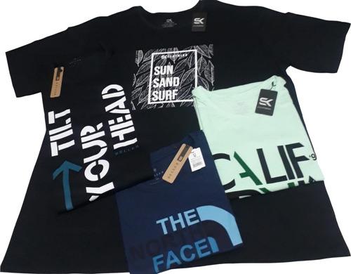 Kit 5 Camisas Frete Gratis Plus Size G1 G2 G3 G4 G5 G6