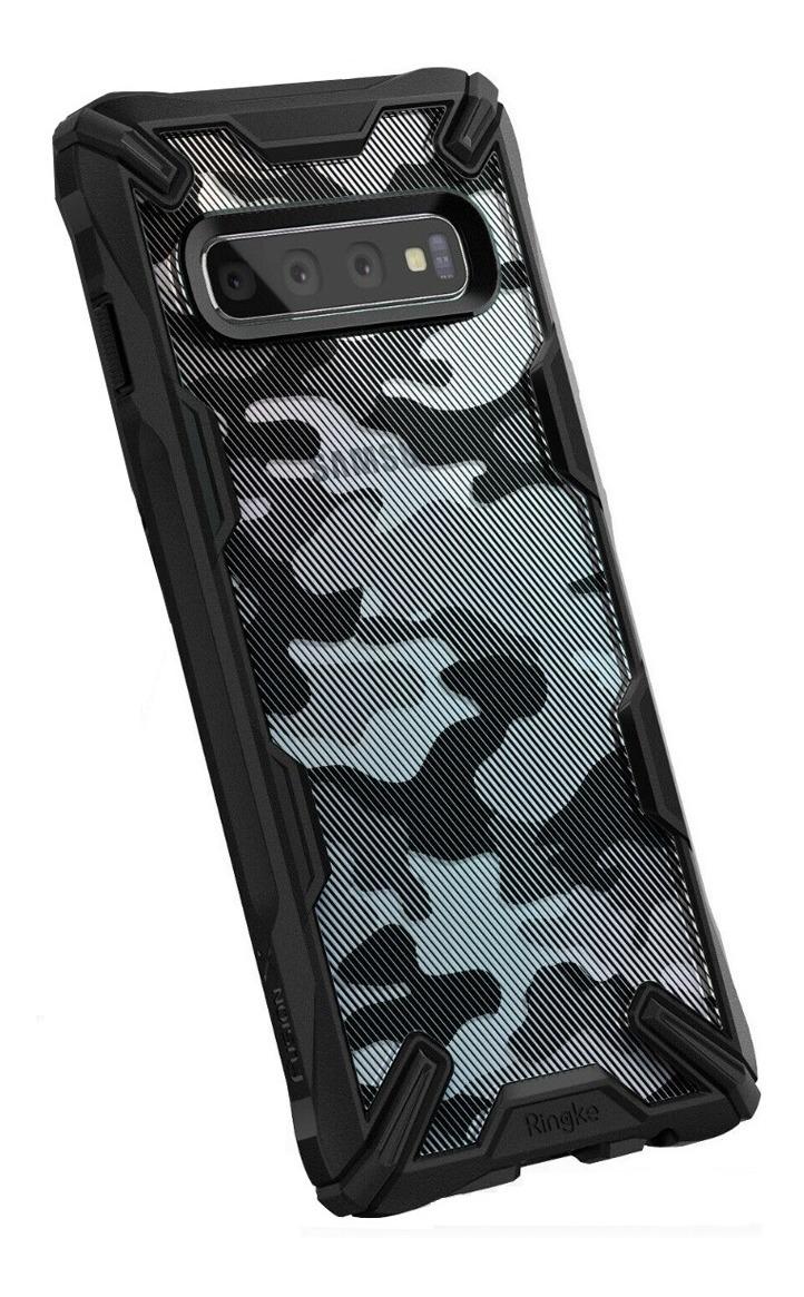 FUNDA RINGKE DUAL X IPHONE XS MAX CAMO BLACK