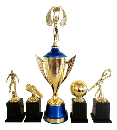 Trofeu Campeão Melhores Do Campeonato Futebol Original