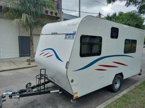 Casa Rodante Pbarbus 450 1 Eje C /frenos 2017 Patentada 2021
