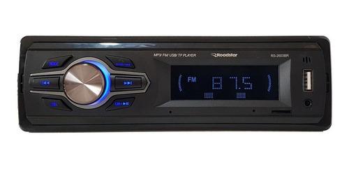 Som Automotivo Roadstar Rs-2603 Com Usb, Bluetooth E Leitor De Cartão Sd