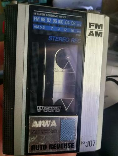Ultra Raro Walkman Aiwa Js-h 07