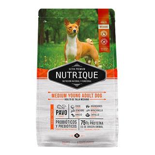 Nutrique Perro Adulto Joven Mediano X 12 Kg