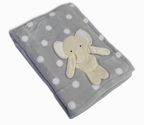 Manta Soft Bichinhos Bebê Infantil Cobertor Anti-alérgico.
