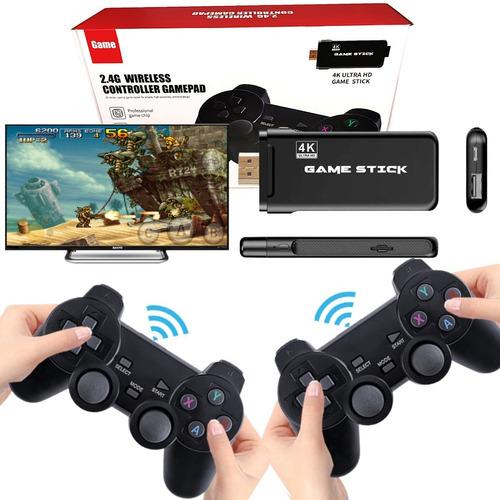 Video Game Stick 10.890 Jogos Retro 2 Controles Sem Fio Nfe