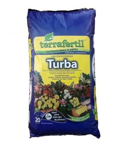 Turba Musgo Sphagnum 20l Terrafertil