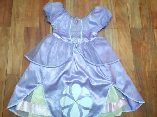Vestido Princesa Sofia Disney Store 5/6 Años