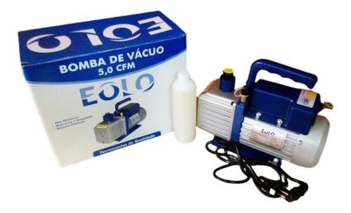 Bomba Vacuo 5 Cfm Simples Estagio Com Óleo Eolo Bivolt 0004e