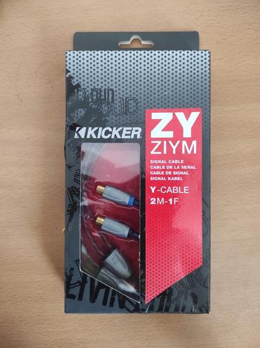 Y Cable Rca Sonido Kicker
