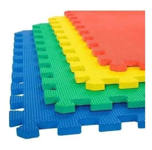 Foamy Grueso Tapete Piso Fomi Fomy Colores   4 Pzs 50x50 Cm