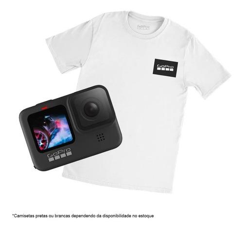 Câmera Gopro Hero 9 Black Camiseta Original Gopro Nf