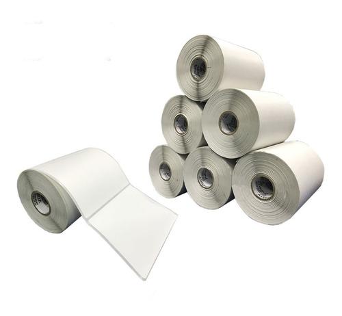 10 Rolos Etiqueta Bopp Adesiva 10x8 Cm | 100x80 Mm