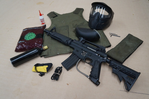 Kit Marcadora De Paintball, Bravo One. Oportunidad. Envíos!