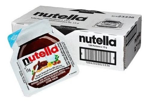 Nutella Ferrero. Crema De Avellanas X 120 Unid. 15gr