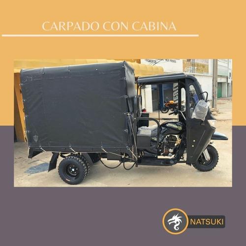 Natsuki Motocarro Carpado Con Cabina