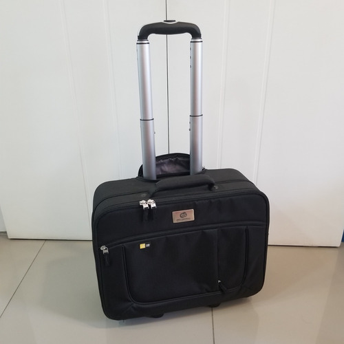 Mala Case Logic C/ Rodas P/ Notebook 17,3  Viagem Executivo