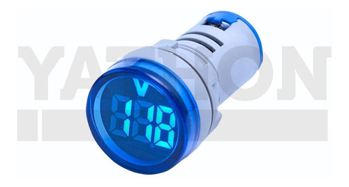 Voltimetro Digital 22mm - 20~500vca Cores