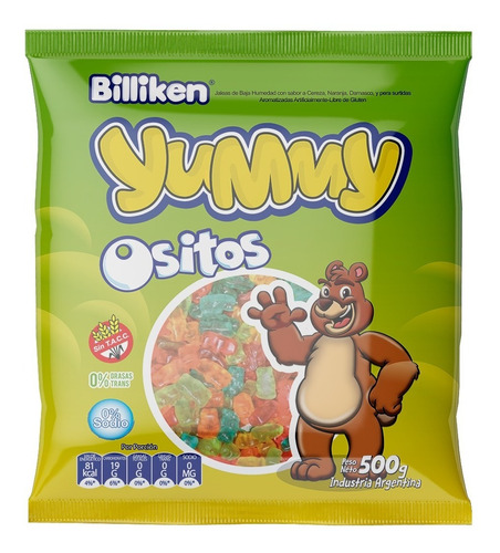 Gomitas Yummy Ositos X 500 Gr - Lollipop