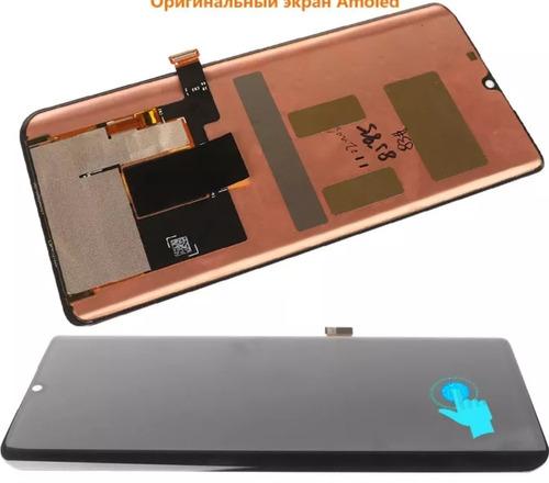 Tela Display Xiaomi Note 10 Original Amoled Biometria Nova