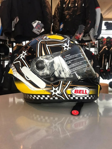 Capacete Bell Star Mips Dlx Isle Of Man Com Viseira Protint