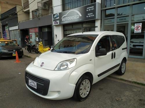 Fiat Qubo Active (full) 1.4 Año 2014, Inmejorable! Autodesco