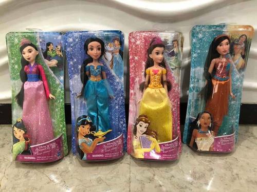 Princesas De Disney Mulan, Bella, Jazmín Y Pocahontas