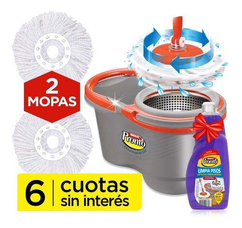Turbo Matic Balde Centrífugo Escurrido + Mopa Extra Iberia