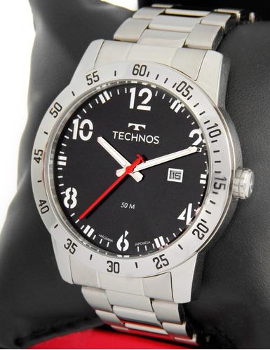 Relógio Technos Masculino Preto 2115myj/1p